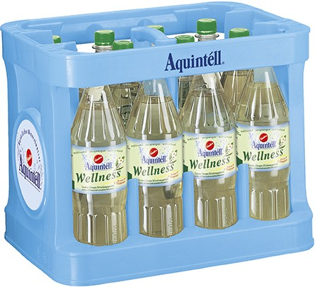 sinalco aquintell wellness 12x1l mit geschmack wasser alkoholfreie getr nke getr nke uhe. Black Bedroom Furniture Sets. Home Design Ideas